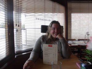 Mag zij ook een menukaart?