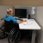 Werkplek gehandicapte